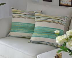 stripes pillow for the sofa chair