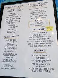 You get the sunrise shack menu! Sunrise Cafe Ii Seaside Park Picture Of Sunrise Cafe Ii Seaside Park Seaside Park Tripadvisor