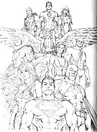 Small Picture Downloads Online Coloring Page Justice League Coloring Pages 80