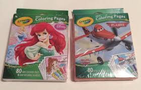 Small Picture Crayola Mini Coloring Pages Disney Princess 80 Pages With 6