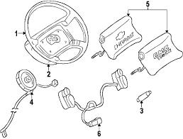 parts com® chevrolet s10 steering wheel trim oem parts 1999 chevrolet s10 zr2 l4 2 2 liter gas steering wheel trim