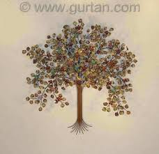 tree of life decoration metal wall art large luxury 792x768 especial