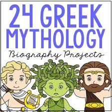 Greek Templates 24 Greek Mythology Research Brochure Templates Mini Book