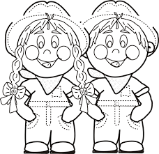 Small Picture Boy And Girl Coloring Pages Boy Page Colour With Picture Of 57 Gif