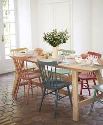 chalk paint a chair or two with pops of