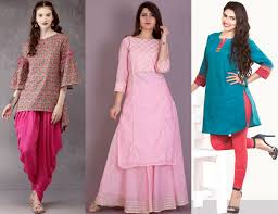 One Side Cut Kurti Designs 7 Bottom Suggestions To Match Up With A Kurti