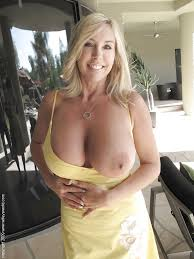 Gorgeous big boob mature