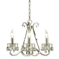 viore design luxuria 3 light chandelier no shades