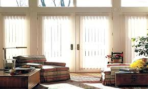 sliding glass door coverings shades for doors reviews kitchen patio window treatments cost curved curtain rod