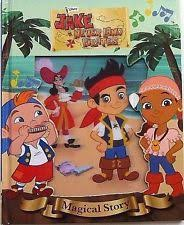 disney jake and the never land pirates magical story book 3d cover