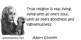 Einstein Religion Quotes. QuotesGram