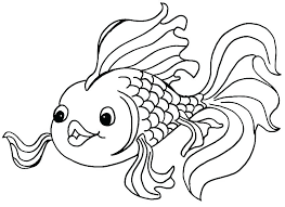 Printable Fish Coloring Pages Interesting To Print Fishing On And