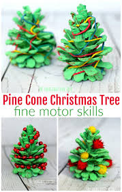 The 25 Best Pom Pom Tree Ideas On Pinterest  DIY Crafts For Pine Cone Christmas Tree Craft Project