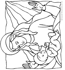Small Picture Baby Jesus Coloring Page Bible Crafts Pinterest Baby jesus