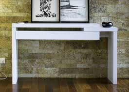 white console table with drawer. Contemporary Console Tables Is Cool White Table With Drawers Slim Glass Drawer