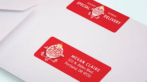 Avery Holiday Label Avery Offers Small Businesses Holiday Printing Of Custom