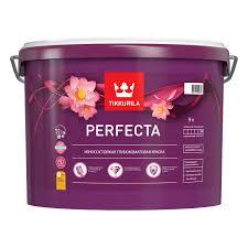 <b>Краска Tikkurila</b> Perfecta для стен и потолков 9 л купить по цене ...