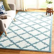 by ivory light blue wool area rug martha stewart rugs round