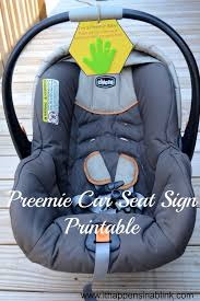 preemie car seat sign it happens in a