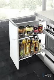 Kitchen Spice Organization Kitchen Pull Out Spice Rack For Deliver More Goods To You