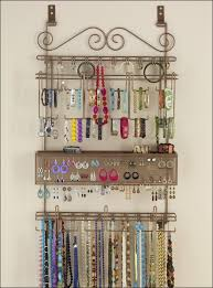 snazzy frame rosewood diy jewelry pouch luxury al wall hanging jewelry organizer heart shaped black metallic