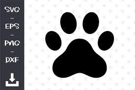 Paw paws bear animal standing hunting fur. Dog Paws Print Graphic By Wanchana365 Creative Fabrica