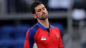 Tokyo 2020 - Novak Djokovic suffers ...