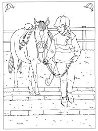 Kleurplaten Paradijs Kleurboek Manege Kleurplaat Steigerend Paard