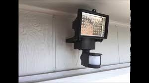 Nature Power 60 Led Solar Security Light Led Solar Motion Light Harbor Freight Quick Install And Demonstration