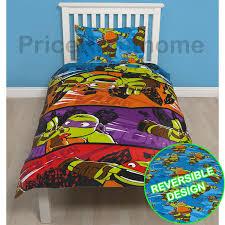 Ninja Turtle Bedroom Furniture Teenage Mutant Ninja Turtles Duvet Covers Single Bedding Sets