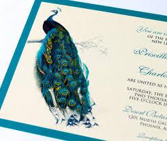 Peacock Invitations Amazing Of Peacock Wedding Invitations Peacock Wedding Invitations