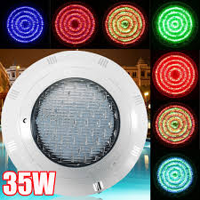 Swimming Pool Lights Walmart 12v 35w Underwater Swimming Pool Led Rgb Light Waterproof Bright Light With Remote Control 7 Colors