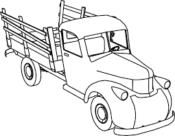 Old truck drawing at getdrawings free for personal use old old truck drawing 34 old truck