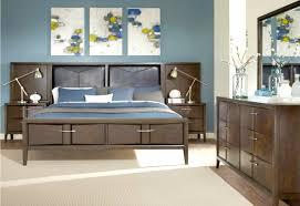 Masculine Bedroom Furniture Masculine Bedroom Art Round Wooden Varnished Nightstand White Oak