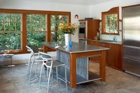 metal kitchen table. Increased Kitchen Functionality Stainless Steel Work Tables Inside Within Metal Designs 13 Table