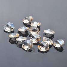 13mm faceted glass crystal beads lamp chandelier parts crystal diy