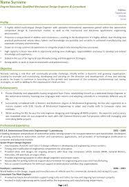 mechanical design engineer resume example download sample for 19  astonishing - Mechanical Design Engineer Sample Resume