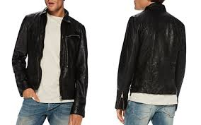 Scotch & Soda Coats & Jackets - Bloomingdale's & Scotch & Soda Lightweight Washed Leather Jacket - Bloomingdale's_2 Adamdwight.com