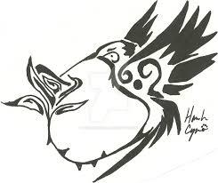 tribal hummingbird tattoo drawing. Wonderful Hummingbird Humming Bird Tribal Commission By Okamikurama  And Hummingbird Tattoo Drawing