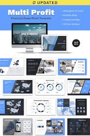 Powerpoint Financial Multi Profit Financial Company Presentation Ppt Powerpoint Template