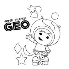Team Umizoomi Geo Coloring Pages