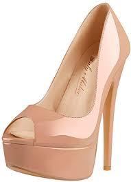Onlymaker Women's Sexy High Heels Peep Toe Slip ... - Amazon.com