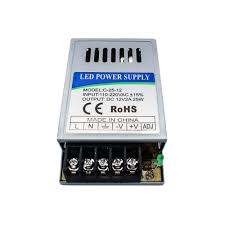 110 Volt Light Bar 110v 220v To 12v Led Driver 25w 2a Led Transformer Power