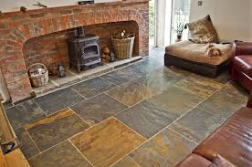 Image of: Rustic Floor Tiles Home
