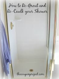 regrout bathroom tile. How To Re-Grout And Re-Caulk Your Shower Regrout Bathroom Tile E