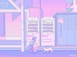 Anime Light Purple And Pink Aesthetic ...