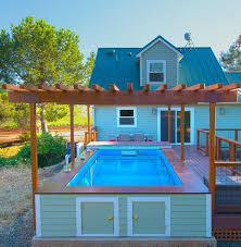pool deck ideas above ground pool