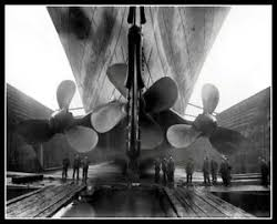 Titanic Photo 8X10 - Propellers 1911 Construction RMS Buy Any 2 Get 1 FREE  | eBay