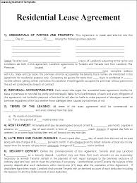 Rental Lease Letters Rental Lease Agreement Templates Free Sample For College Students