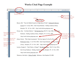 Mla Paper Example Works Cited Floss Papers